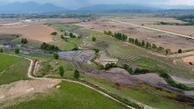 Trang trại bò sữa Lao- Jagro tại Xiêng Khoảng (Lào) của Vinamilk, ảnh chụp tháng 5/2021.
