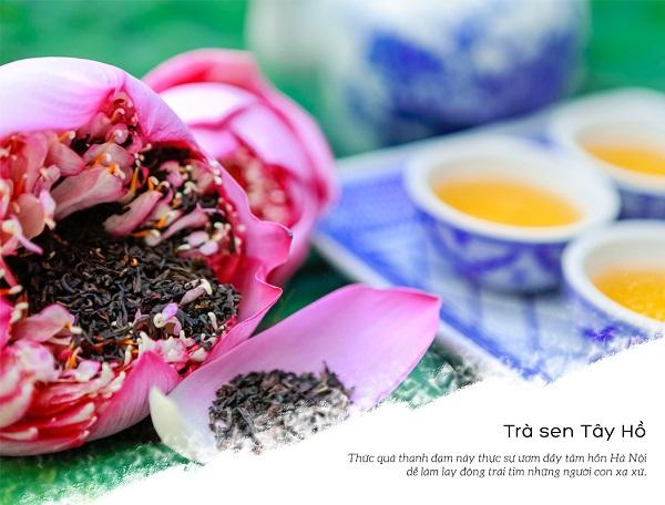 Trà sen Tây Hồ - Đỉnh cao của văn hóa trà Việt