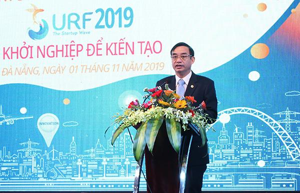 Phó Chủ tịch UBND thành phố Đà Nẵng Lê Trung Chinh phát biểu tại lễ khai mạc