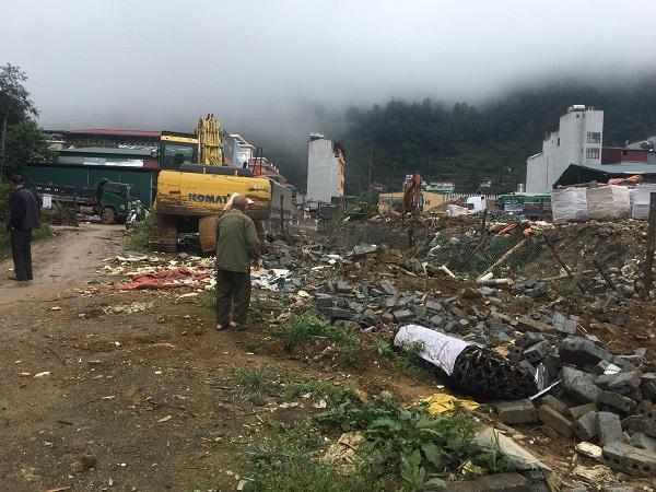 Toàn bộ dãy nhà xưởng trên diện tích 687m2 của ông Đoàn Văn Mạc đã bị cưỡng chế