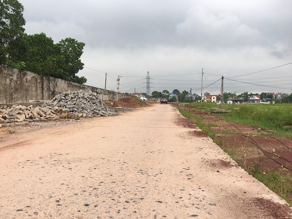 Dự án đường từ Quốc lộ 3