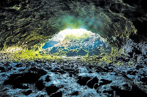 Một góc hang núi lửa Krông Nô