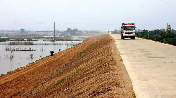 Dự án Đầu tư xây dựng nâng cấp đê tả sông Luộc kéo dài (đoạn từ K120+600 đê tả sông Hồng đến K20+700 đê tả sông Luộc) tỉnh Hưng Yên.