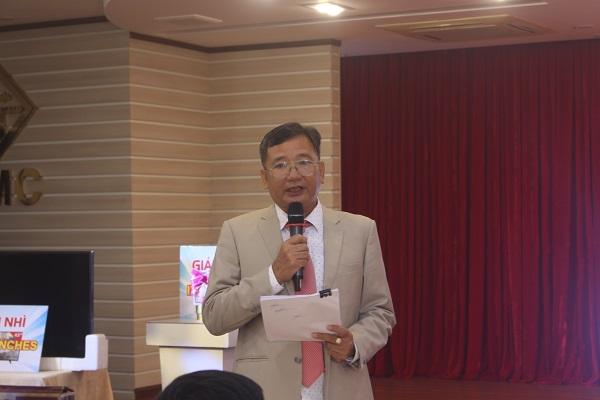 Ông Tạ Minh Đức – Chủ tịch HĐQT HTX chợ Bình Hương