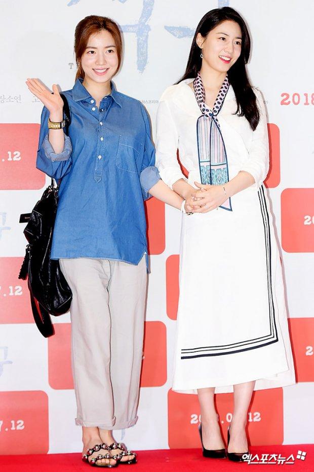 Ryu Hwa Young và Ryu Hyo Young.