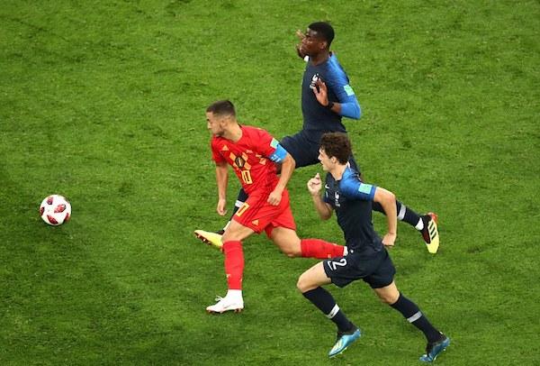 Pháp 1-0 Bỉ, ket qua Pháp 1-0 Bỉ, ti so Pháp 1-0 Bỉ, world cup 2018, hazard