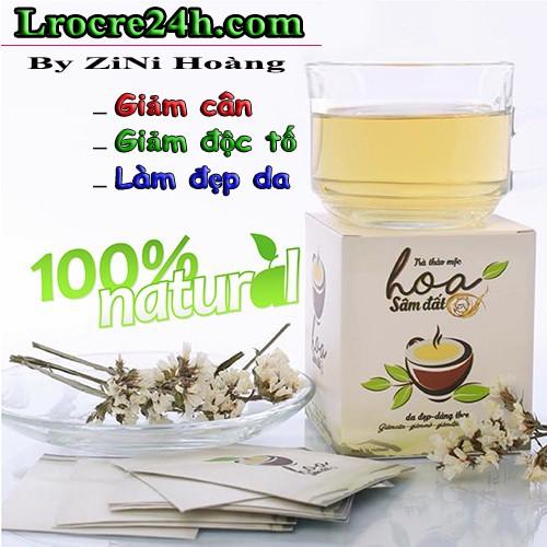 Thực phẩm giảm cân Thảo mộc Hoa Sâm Đất chứa chất cấm - Ảnh 1.