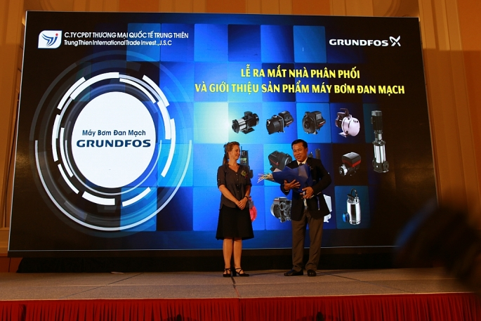 grundfos day manh hoat dong tai thi truong viet nam