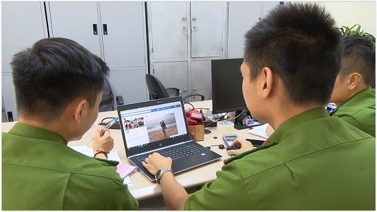 Cơ quan công an diều tra hoạt động của loại tôi phạm trên (ảnh QTV)