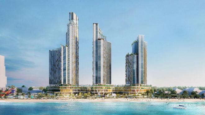 Dự án Sunbay Park Hotel do Tập đoàn Crystal Bay đầu tư.