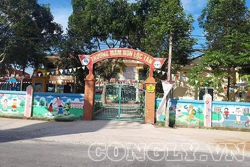 Phụ huynh bức xúc vì nhiều khoản thu trái quy định tại trường mầm non Lộc Tân