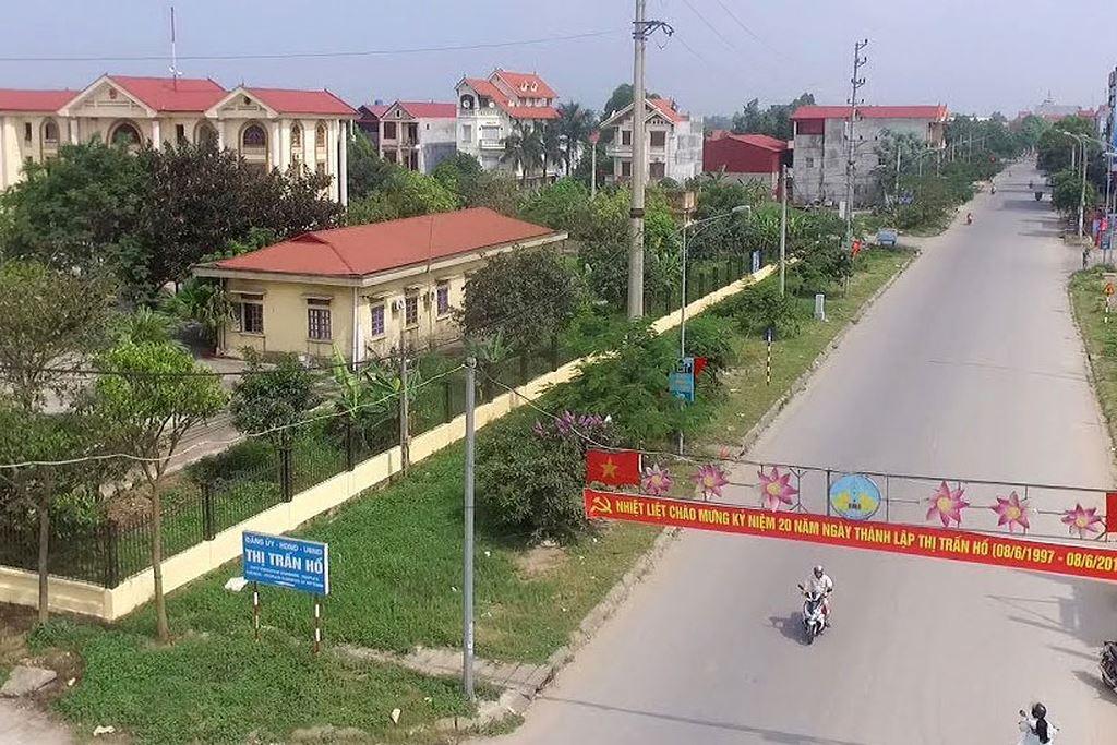 Mục tiêu của Dự án là đáp ứng nhu cầu đi lại, sinh hoạt của nhân dân và điều kiện làm việc của các cơ quan thuộc UBND huyện Thuận Thành, Bắc Ninh. Ảnh: Lê Hà