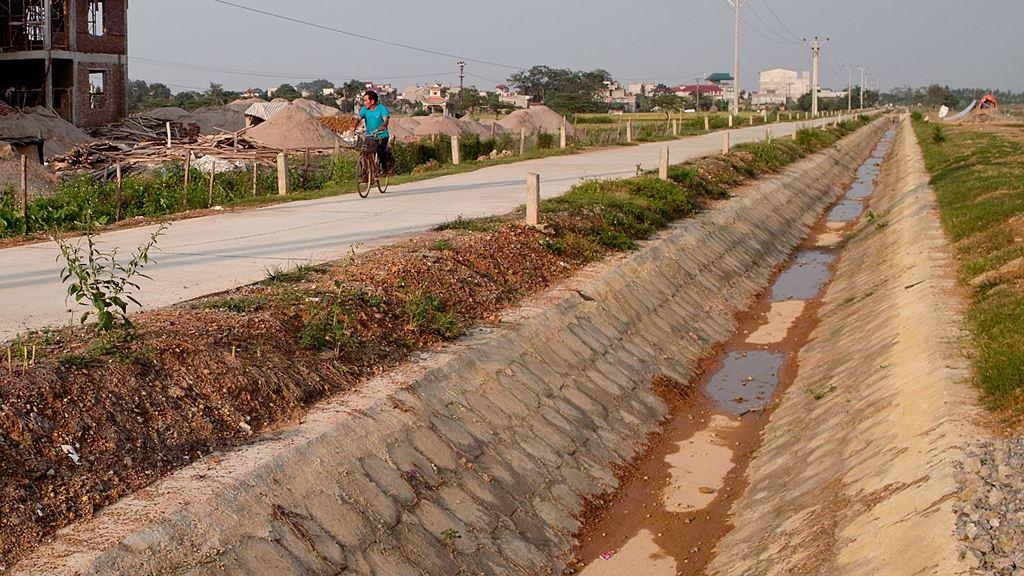 Sở NN&PTNT tỉnh Vĩnh Phúc - chủ đầu tư một gói thầu xây lắp kênh và các công trình trên kênh - bị phản ánh không xử lý kiến nghị của nhà thầu. Ảnh: Tiên Giang