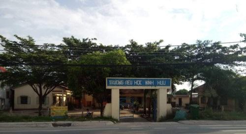 Tạm đình chỉ công tác đối với cô giáo đánh học sinh bầm tím ở trường Tiểu học Bình Hữu