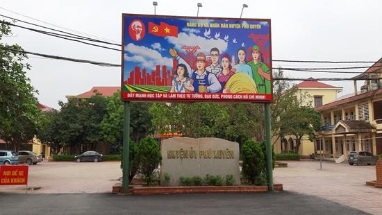 Huyện Phú Xuyên (Hà Nội): Nhiều hố