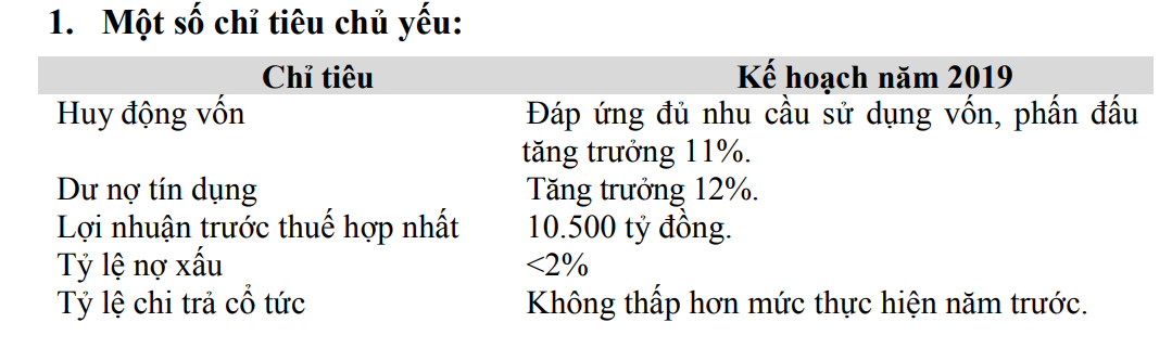BIDV kế hoạch lãi trước thuế 10.500 tỉ đồng, tất toán toàn bộ trái phiếu VAMC trong năm 2019 - Ảnh 1.