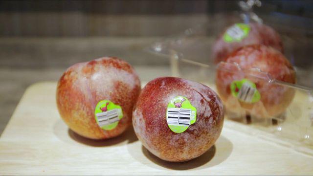 Mận khủng long nhập khẩu Úc to như quả đấm, chị em tranh nhau mua ăn để giảm cân - Ảnh 3.