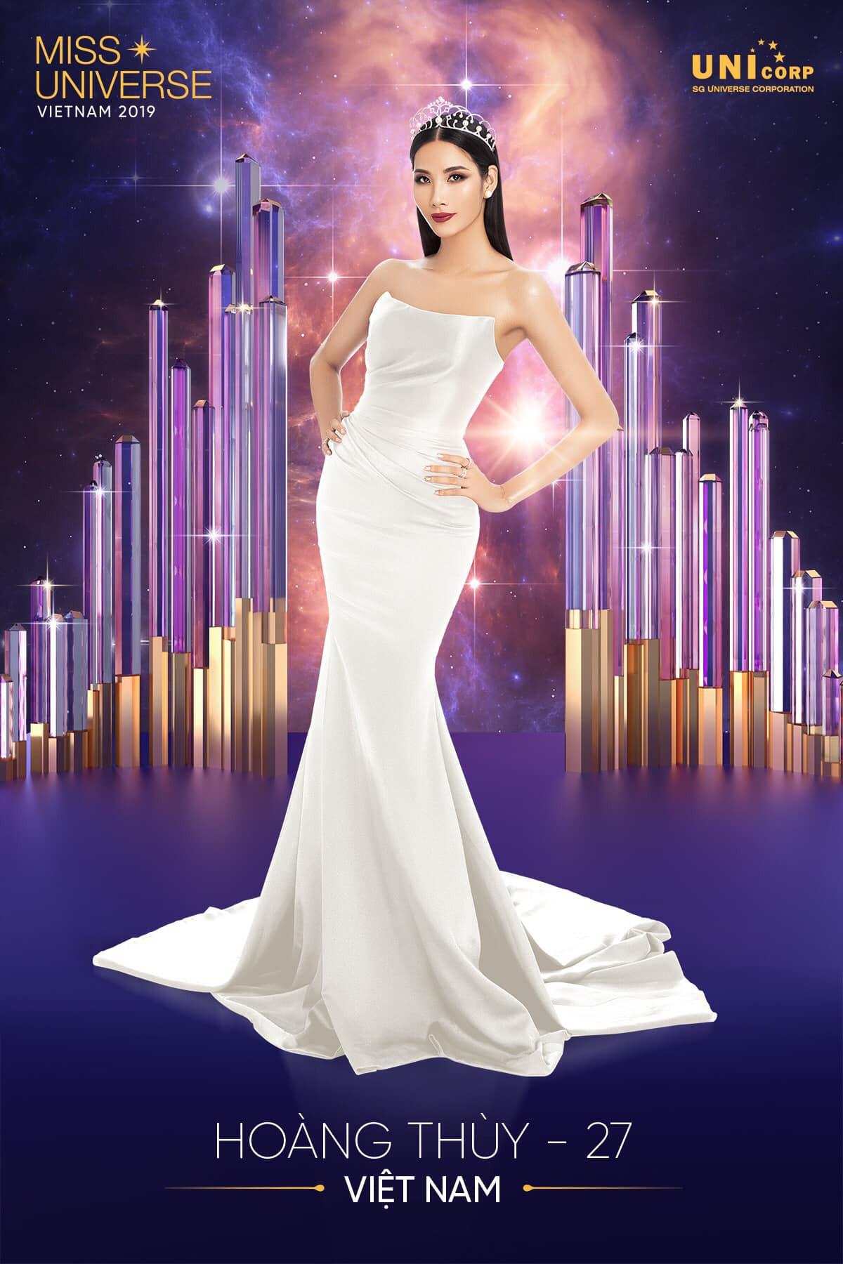 Hoàng Thùy chính thức trở thành đại diện Việt Nam thi Hoa hậu Hoàn vũ 2019  - Ảnh 1.