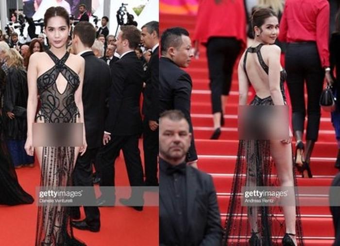 Sau vụ Ngọc Trinh diện trang phục gây sốc tại Cannes 2019: Ăn mặc hở hang sẽ bị xử lí ra sao? - Ảnh 1.