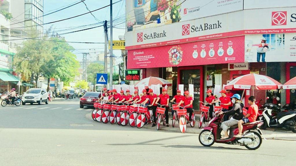 SeABank roadshow hưởng ứng không dùng tiền mặt và miễn phí chuyển tiền - ảnh 7