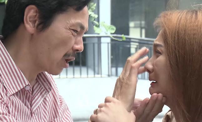 Trung Anh không dám xem lại cảnh ông Sơn đến nhà Vũ khóc đón Thư về