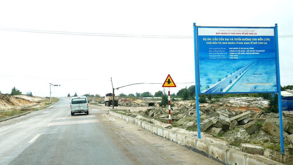 Đạt Phương đã tham gia thực hiện nhiều công trình giao thông lớn. Ảnh: Tiên Giang