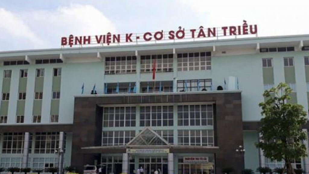 Bệnh viện K là một trong những địa chỉ mà Công ty CP Đầu tư y tế Việt Mỹ có tần suất trúng thầu nhiều nhất. Ảnh: Internet