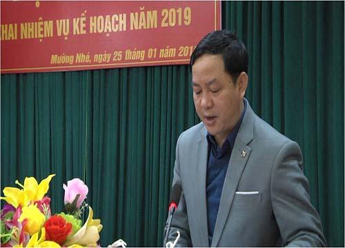 Lù Văn Thanh – Phó Bí thư huyện ủy, Chủ tịch UBND huyện (ảnh st)