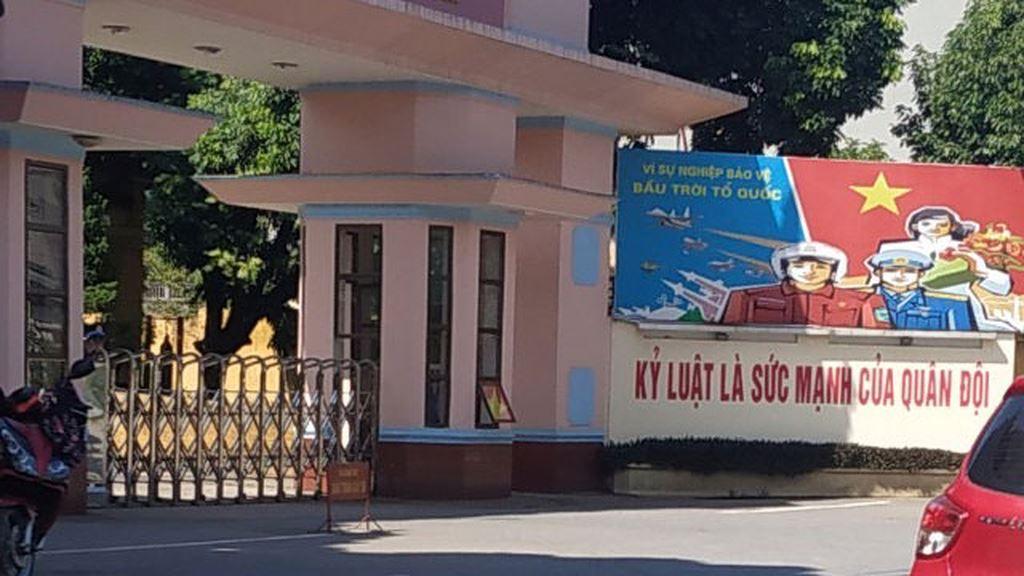 Địa chỉ phát hành HSMT 2 gói thầu bị phản ánh là tại Trụ sở Sư đoàn 371, xã Tiên Dược, huyện Sóc Sơn, TP. Hà Nội. Ảnh: Bích Thảo