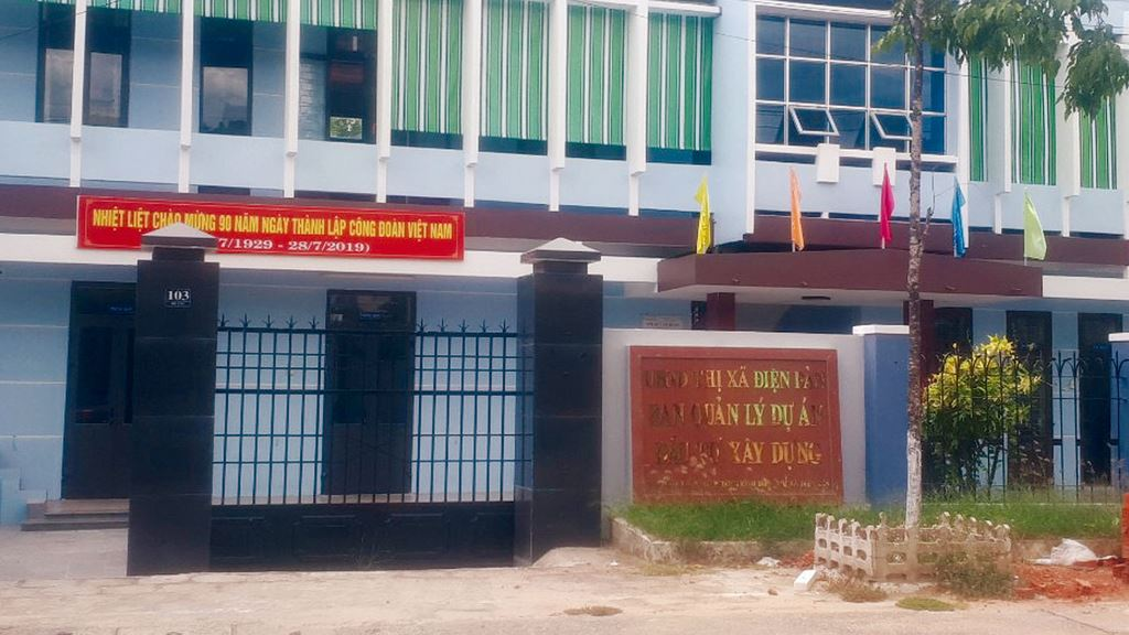 Gói thầu Thi công xây dựng, thiết bị thuộc Dự án Bể bơi các xã vùng Đông do Ban Quản lý dự án đầu tư xây dựng thị xã Điện Bàn (tỉnh Quảng Nam) làm chủ đầu tư
