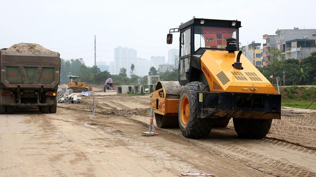 Công ty CP Đầu tư Phát triển Vĩnh Cát được công bố trúng nhiều gói thầu xây trường học, nâng cấp đường giao thông ở huyện Yên Phong, tỉnh Bắc Ninh. Ảnh: Tiên Giang