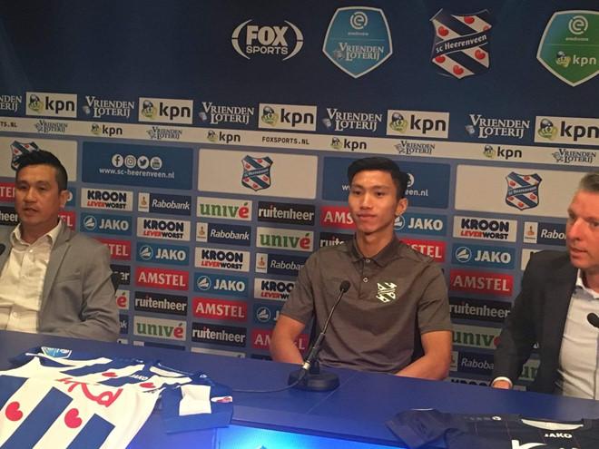 Văn Hậu chính thức trở thành tân binh CLB SC Heerenveen với số áo 15 - ảnh 3