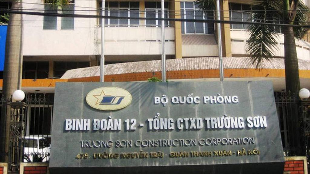 Tổng công ty Xây dựng Trường Sơn hiện đang trong thời gian thực hiện nhiều gói thầu trị giá hàng trăm tỷ đồng. Ảnh: NC st