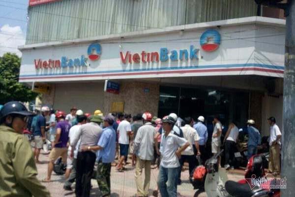 VietinBank lên tiếng về vụ cướp xảy ra tại Hà Nội - Ảnh 1.