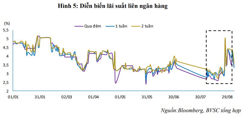 Lãi suất liên ngân hàng giảm mạnh sau kì nghỉ lễ 2/9 - Ảnh 3.