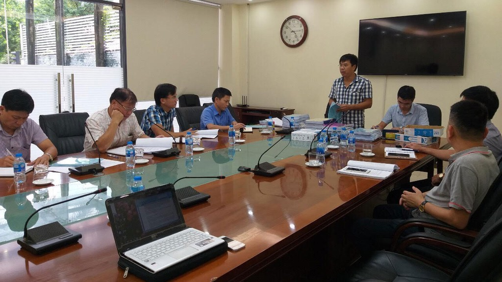 Dù chỉ có 1 nhà nhà thầu nộp HSDT nhưng do tính đặc thù của Gói thầu, Công ty CP Vận tải đường sắt Hà Nội vẫn quyết định cho mở thầu. Ảnh: Trần Nam