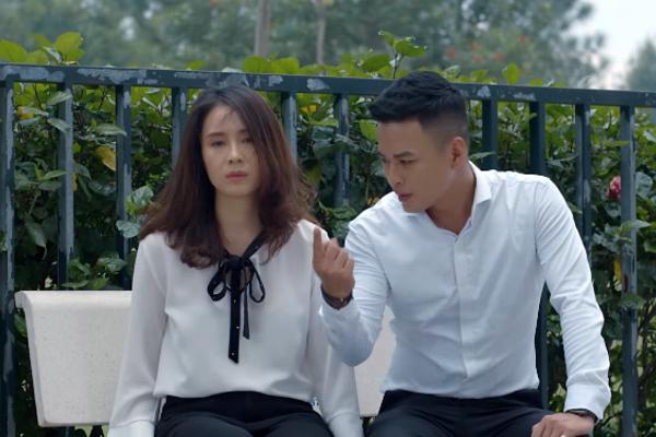 'Hoa hồng trên ngực trái' tập 19, Khuê ly hôn Thái, Bảo ngăn Khuê tự tử