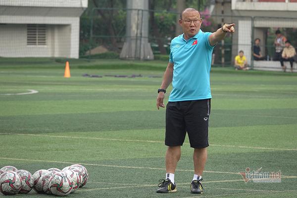 U22 Việt Nam, HLV Park Hang Seo ưu tư vì điều gì?