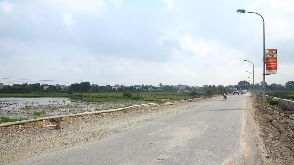 Hiện tại, Liên danh trúng thầu đã triển khai thi công Gói thầu đường Tân Dân - Văn Hoàng - Đại Thắng (Hà Nội). Ảnh minh họa: Nhã Chi