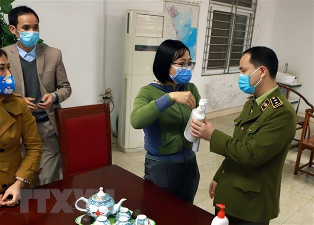 Vinh Phuc lien tuc kiem tra cong tac phong, chong dich benh nCoV hinh anh 1