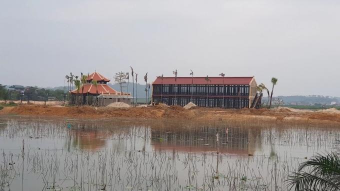 Sai phạm ở dự án Vườn Vua resort&villas cần phải bị xử lý. Ảnh: LAT.