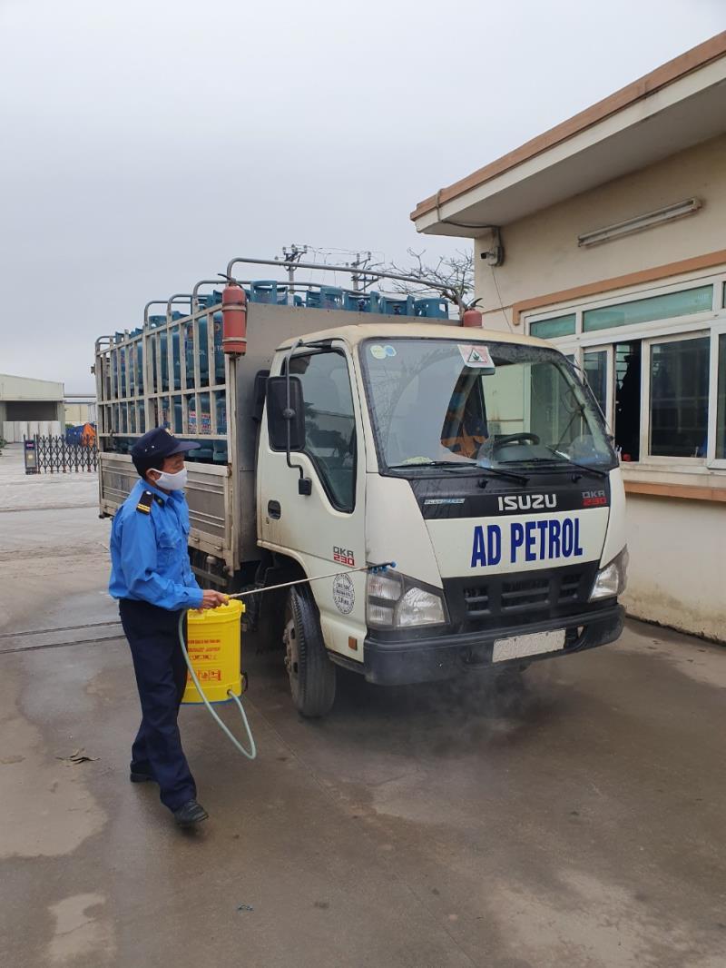 Công ty CPTM Dầu khí An Dương đồng hành chống dịch Covid-19 - 1