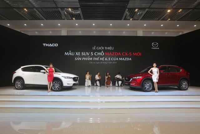 Mẫu xe SUV 5 chỗ CX-5 mới - Sản phẩm thế hệ 6.5 của Mazda chính thức ra mắt - 1