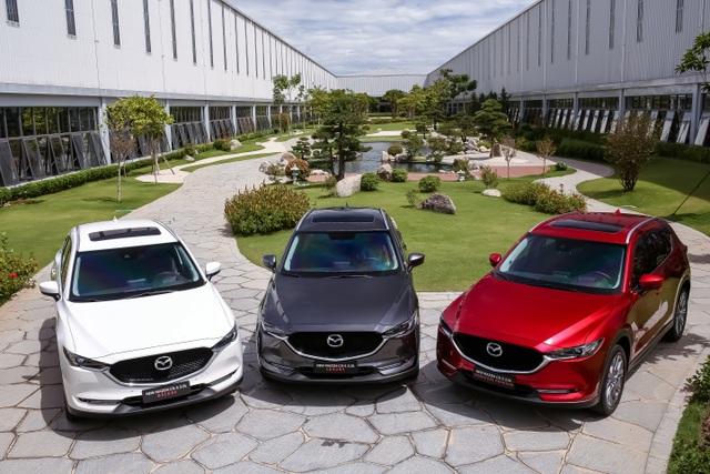 Mẫu xe SUV 5 chỗ CX-5 mới - Sản phẩm thế hệ 6.5 của Mazda chính thức ra mắt - 2
