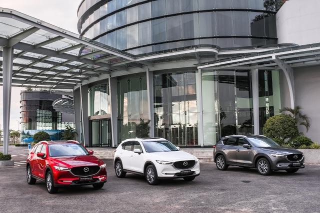 Mẫu xe SUV 5 chỗ CX-5 mới - Sản phẩm thế hệ 6.5 của Mazda chính thức ra mắt - 3