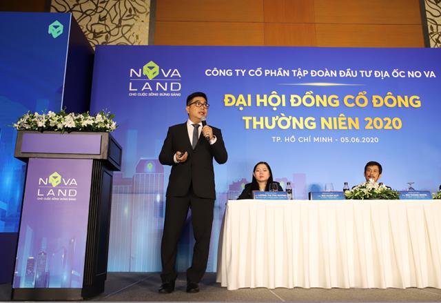 Novaland tổ chứcĐại hội cổđông thường niên năm 2020