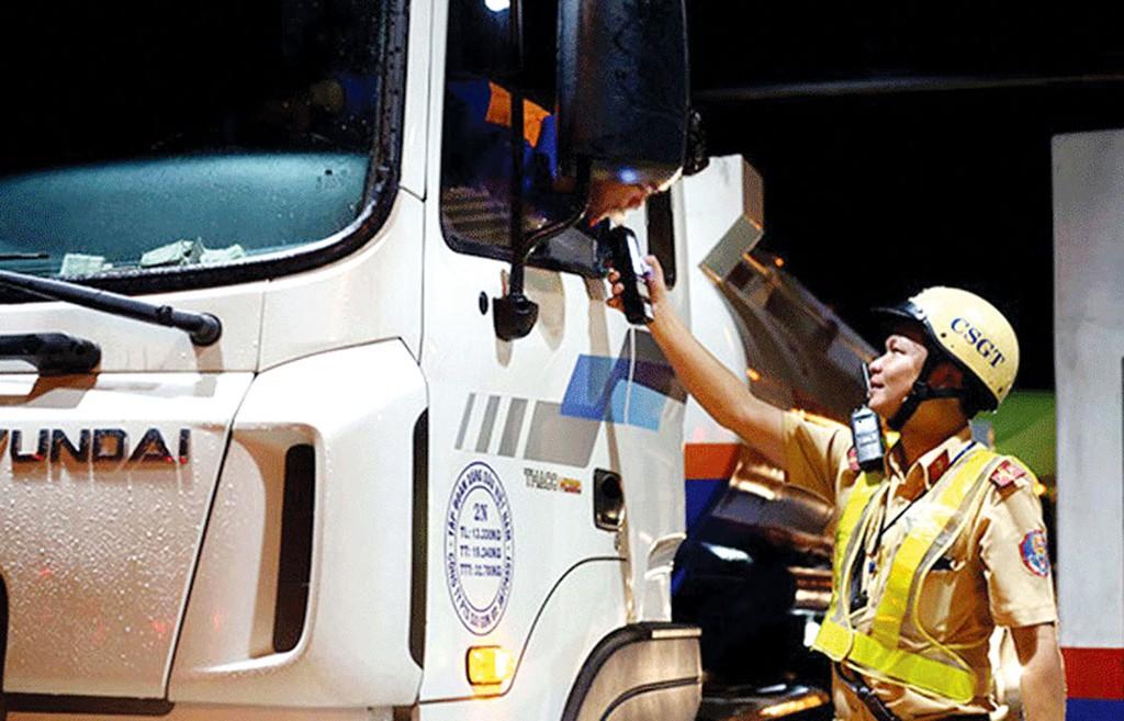 Công ty CP Thiết kế Xây dựng Thương mại Hoàn Quân bị nhà thầu tố nhầm lẫn vai trò tại Gói thầu trang bị máy đo nồng độ cồn cho Đội Cảnh sát giao thông - trật tự Công an Quận 11 (TP.HCM. Ảnh: Ngọc Dương