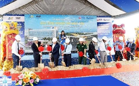 Lễ khởi công dự án gần 1.500 tỷ đồng tại Long An.