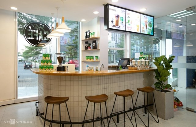 Vinamilk tuyên bố mở rộng chuỗi Hi-Café. (Ảnh: VnExpress).