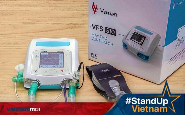 Vingroup tặng 2.400 máy thở điều trị Covid-19 do doanh nghiệp sản xuất cho Nga và Ukraina